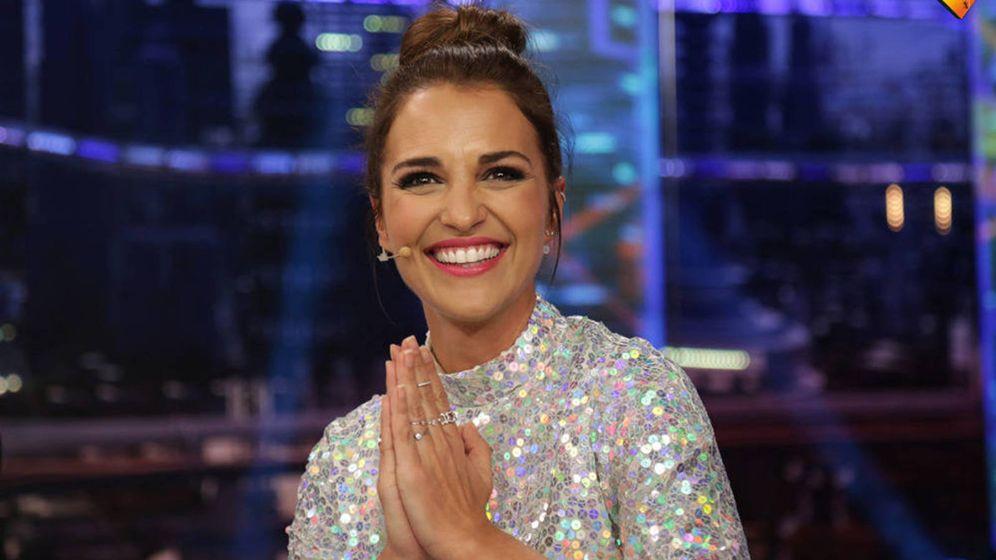 Foto: Paula en una imagen del Hormiguero (Antena 3)