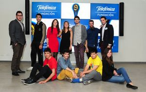 Nueve jóvenes presentan proyectos innovadores con impacto social