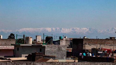 India divisa el Himalaya después de 30 años de polución debido a la cuarentena