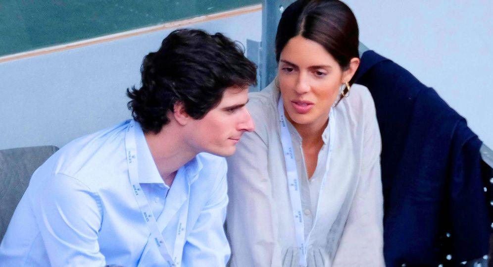 Foto: Fernando Fitz-James Stuart y Sofía Palazuelo, en una fotografía de Cordon Press.