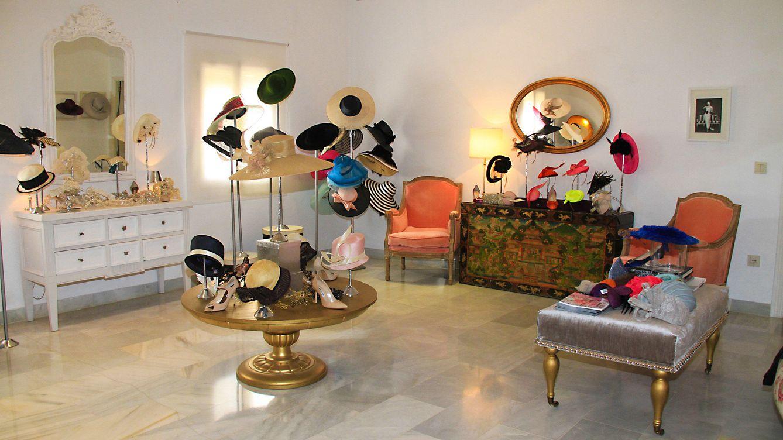 Foto: Sombreros y tocados de la firma Reyes Hellin (Gtres)