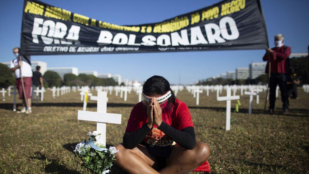 Brasil sufre uno de los días más mortíferos con 1.254 nuevos fallecidos en 24 horas