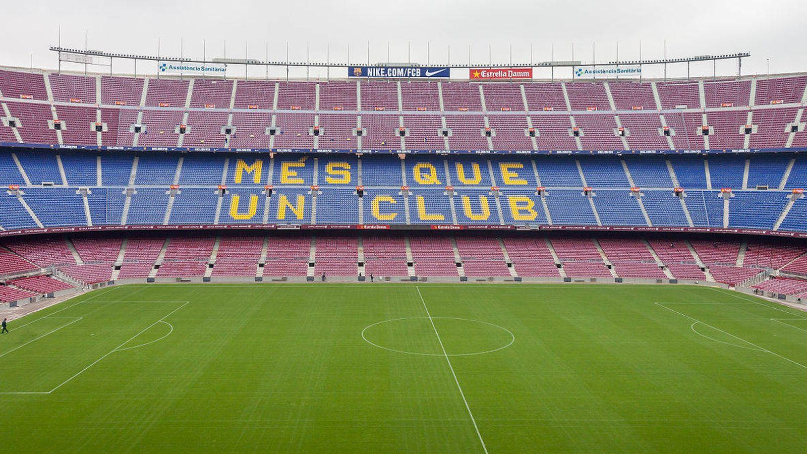Foto: Camp Nou. (Luis Miguel Bugallo Sánchez)