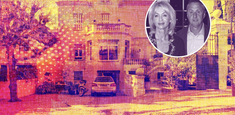 Foto: La casa de los Cruyff a la venta, en un fotomontaje realizado por Vanitatis