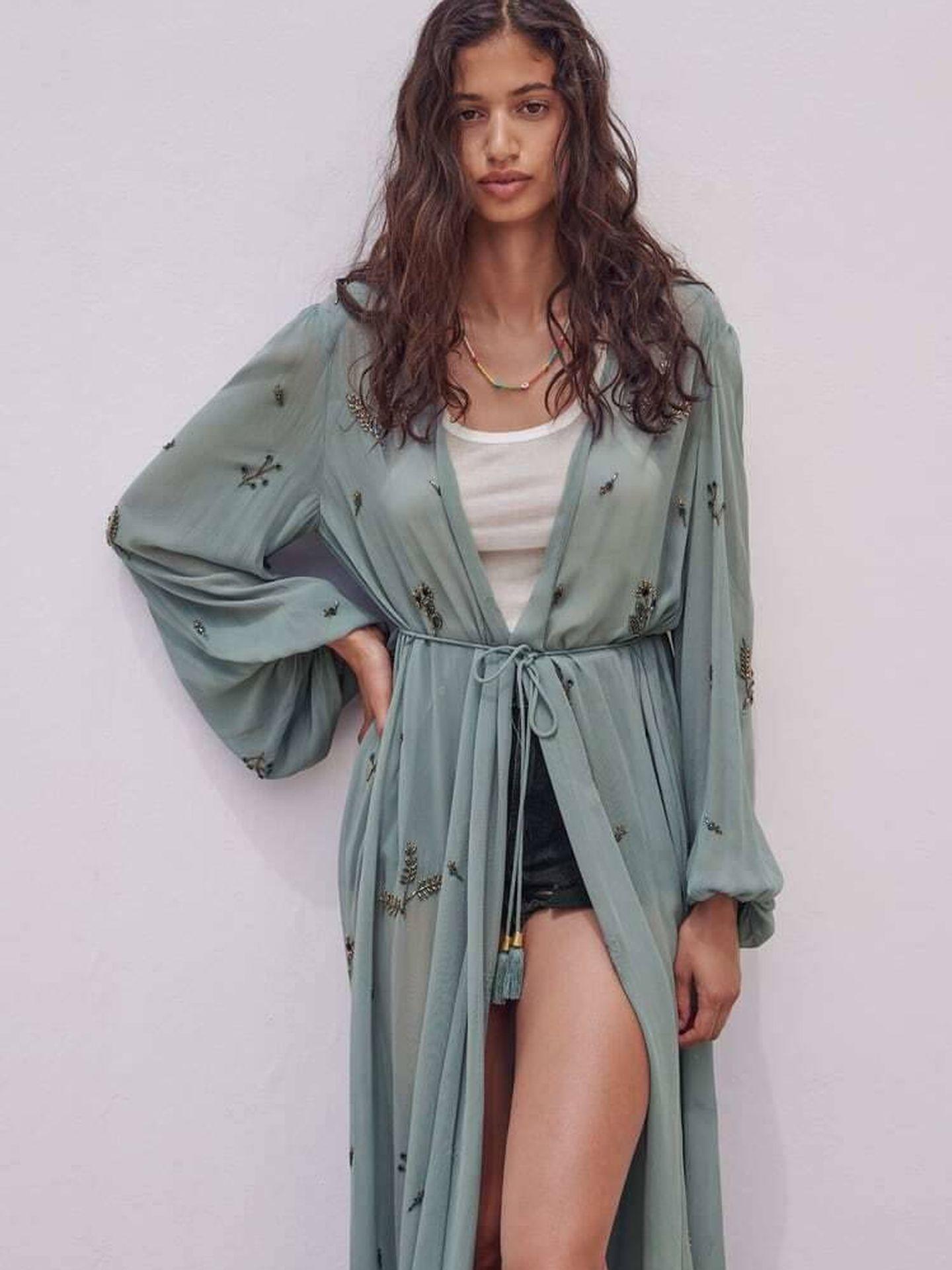 Kimono de Zara. (Cortesía)