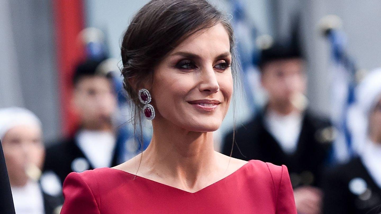 La reina Letizia, en los Premios Princesa de Asturias del 2019. (Getty)