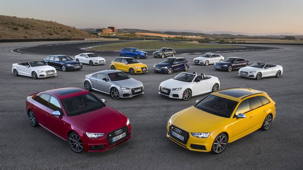 Al volante de la gama S de Audi, potencia y mucho más