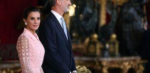 Post de Letizia, entre reinas (de las mañanas): todas las imágenes de la recepción del 12-o