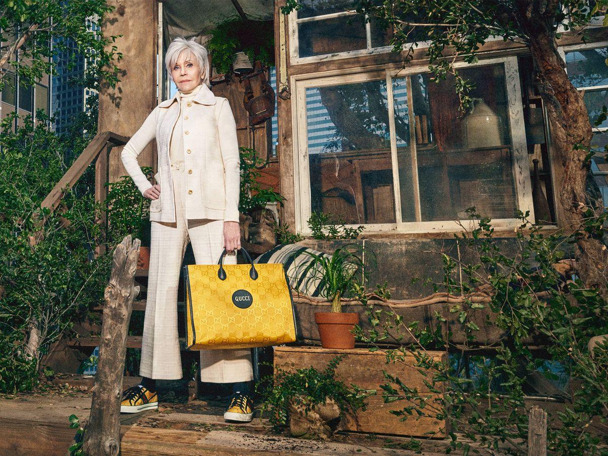 Foto: Gucci apuesta por Jane Fonda para la imagen de su campaña más sostenible