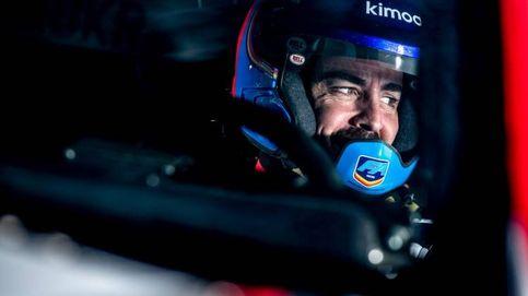 Fernando Alonso, de vuelta al paddock del GP de Italia desde las pistas de Polonia