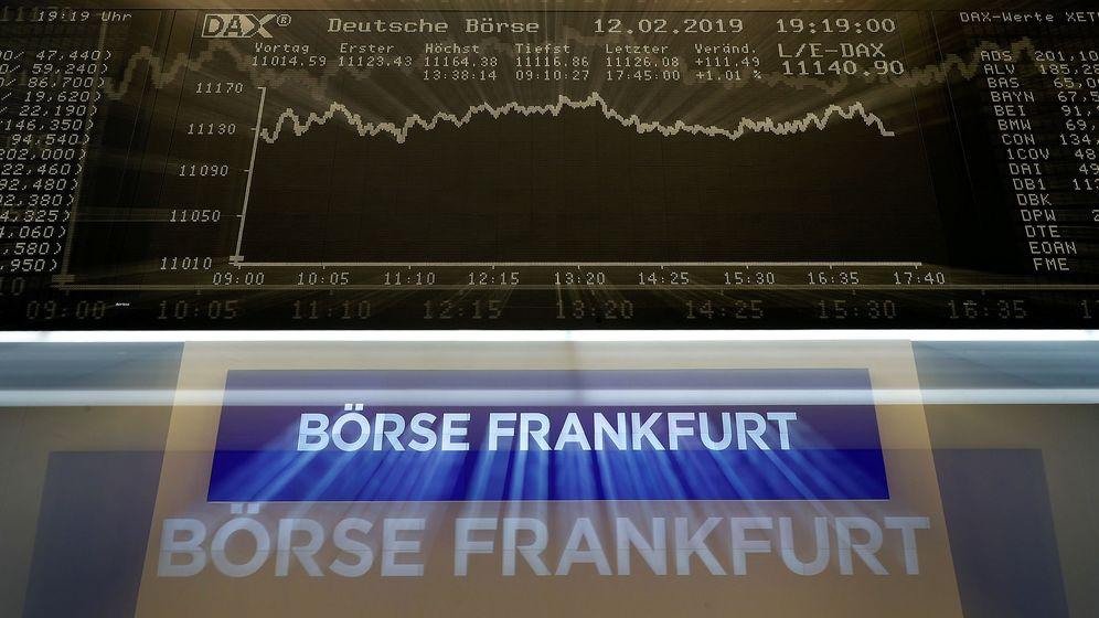 Foto: Bolsa de Alemania (Reuters)