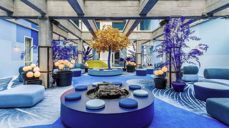 Lobby de Room Mate Bruno.
