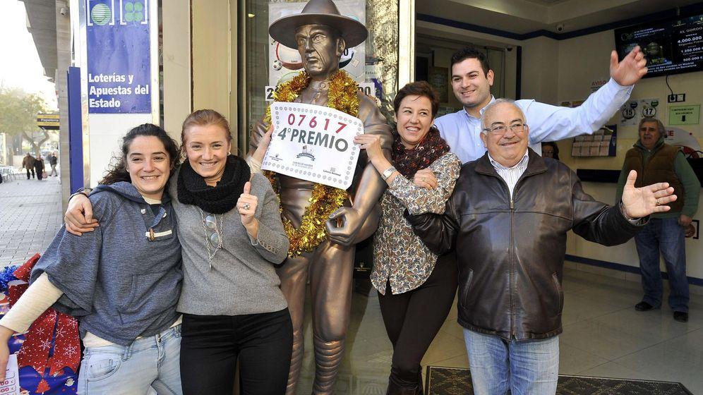 Foto: Un cuarto premio, el 07.617, vendido en cuenca, toledo y Albacete