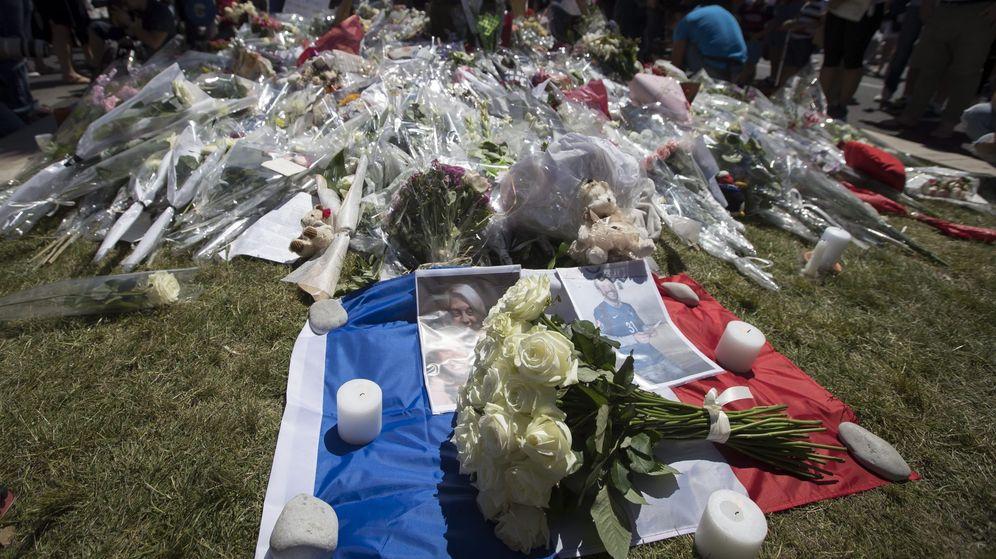 Foto: Homenaje a las víctimas del ataque de Niza. (EFE)