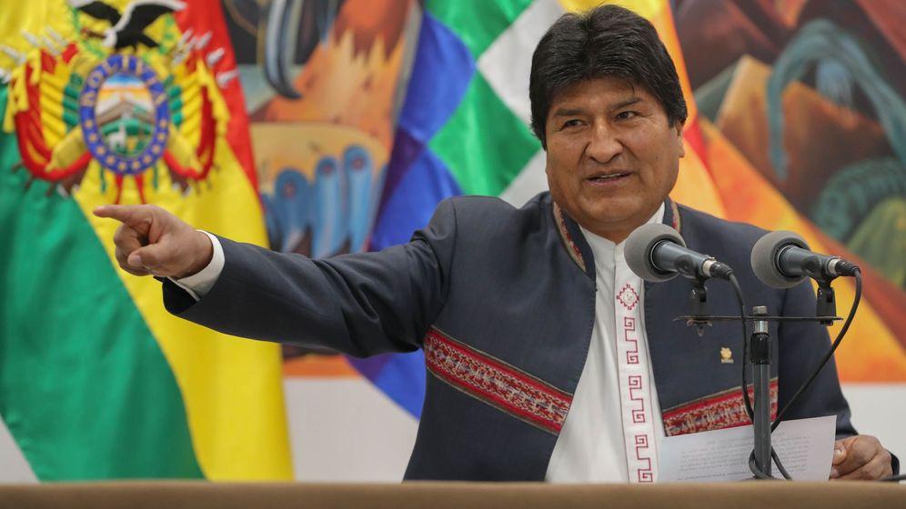 Foto: El presidente de Bolivia, Evo Morales. (EFE)