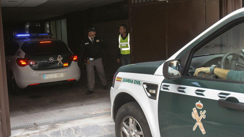 Foto: Agentes de la Guardia Civil.(EFE)