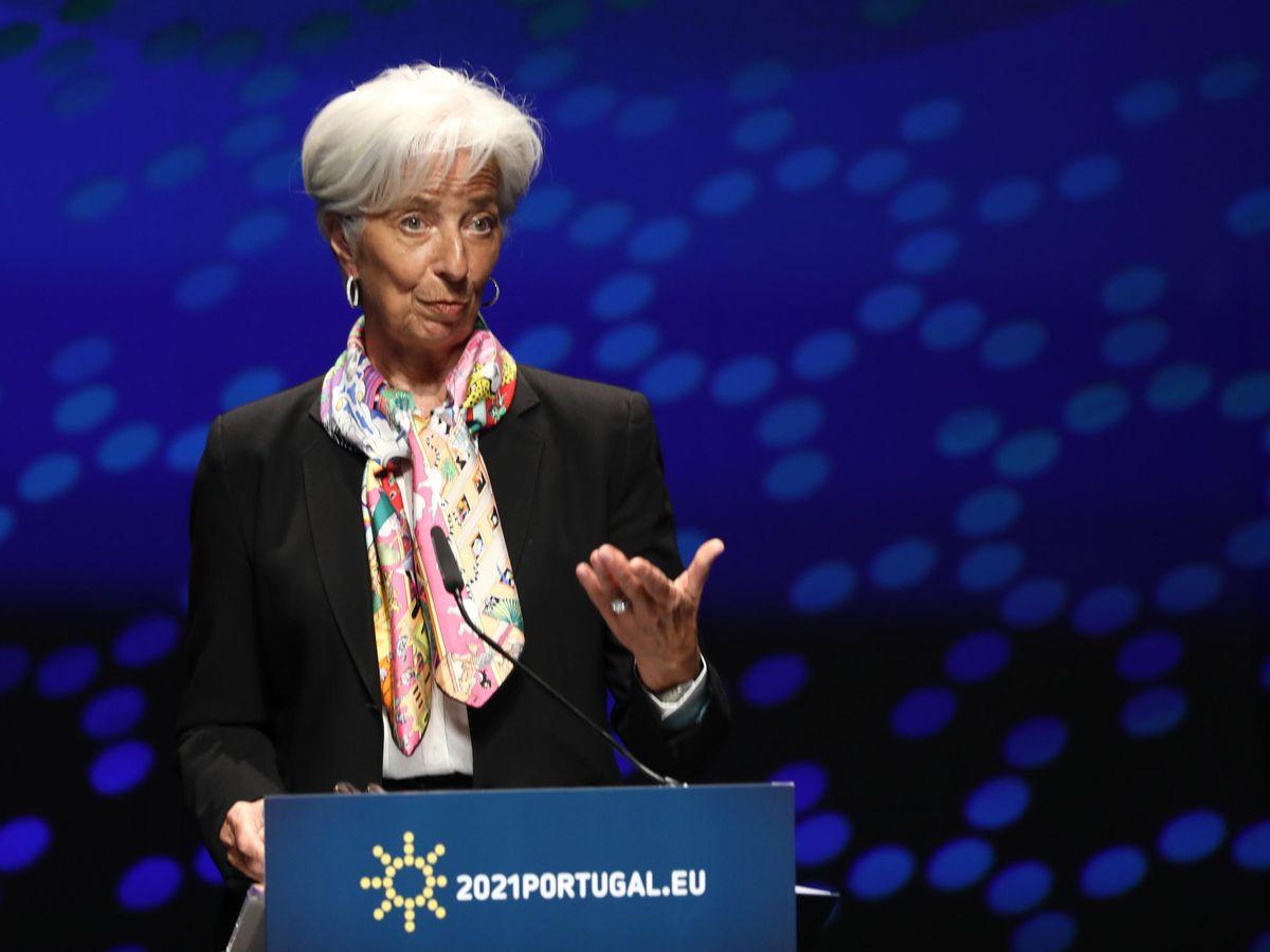 Foto: Presidenta del Banco Central Europeo, Christine Lagarde (EFE)