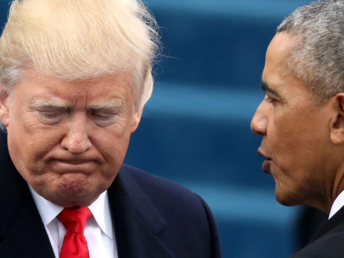 Foto: Donald Trump y Barack Obama. (Reuters)