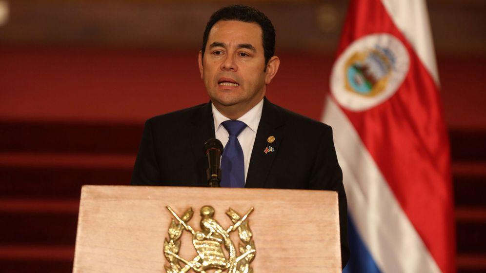 Foto: El presidente de Guatemala, Jimmy Morales (EFE)