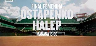 Post de DMAX emite este sábado la final femenina de Roland Garros