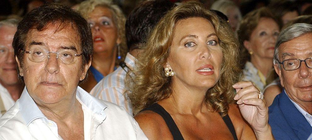 Foto: El productor José Frade y Norma Duval, en una imagen de archivo en Marbella (I.C.)