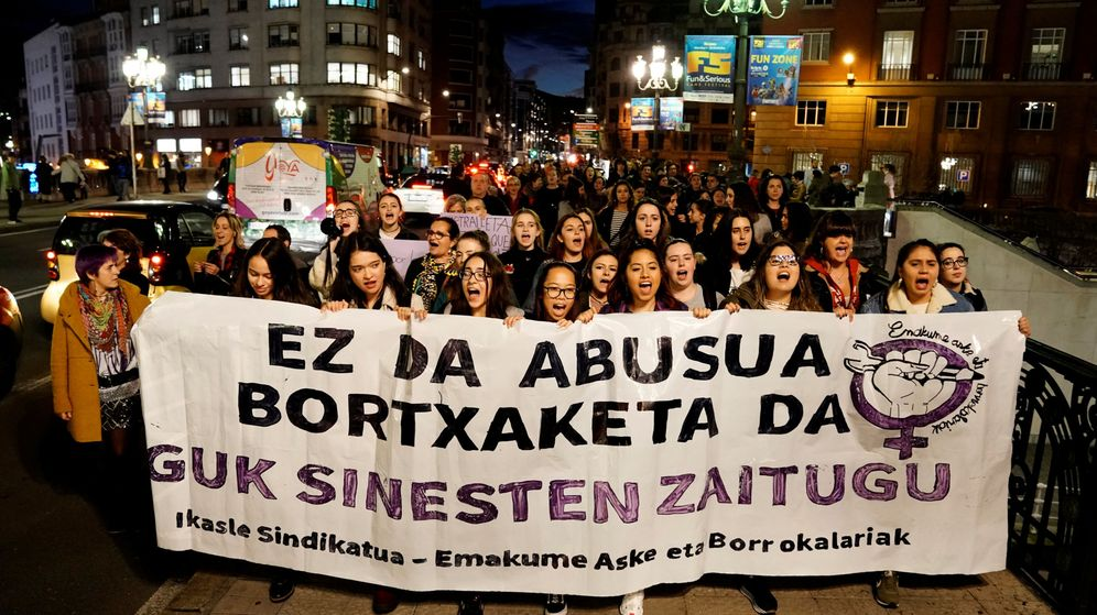 Foto: Protestas en Bilbao. (Reuters)
