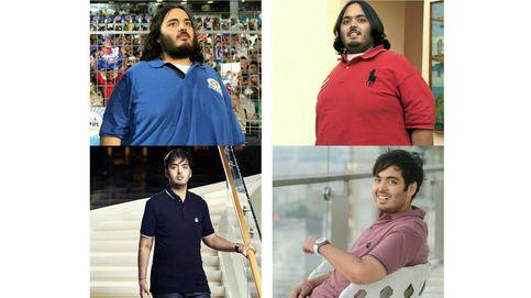 Adelgazar 108 kilos en solo 18 meses: así lo hizo el hijo del hombre más rico de India