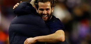 Post de El gol de Nacho en un Real Madrid espeso y por qué se lo dedica a Zidane