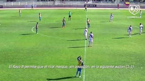 El Rayo Vallecano B se deja un gol por haber marcado con un rival lesionado