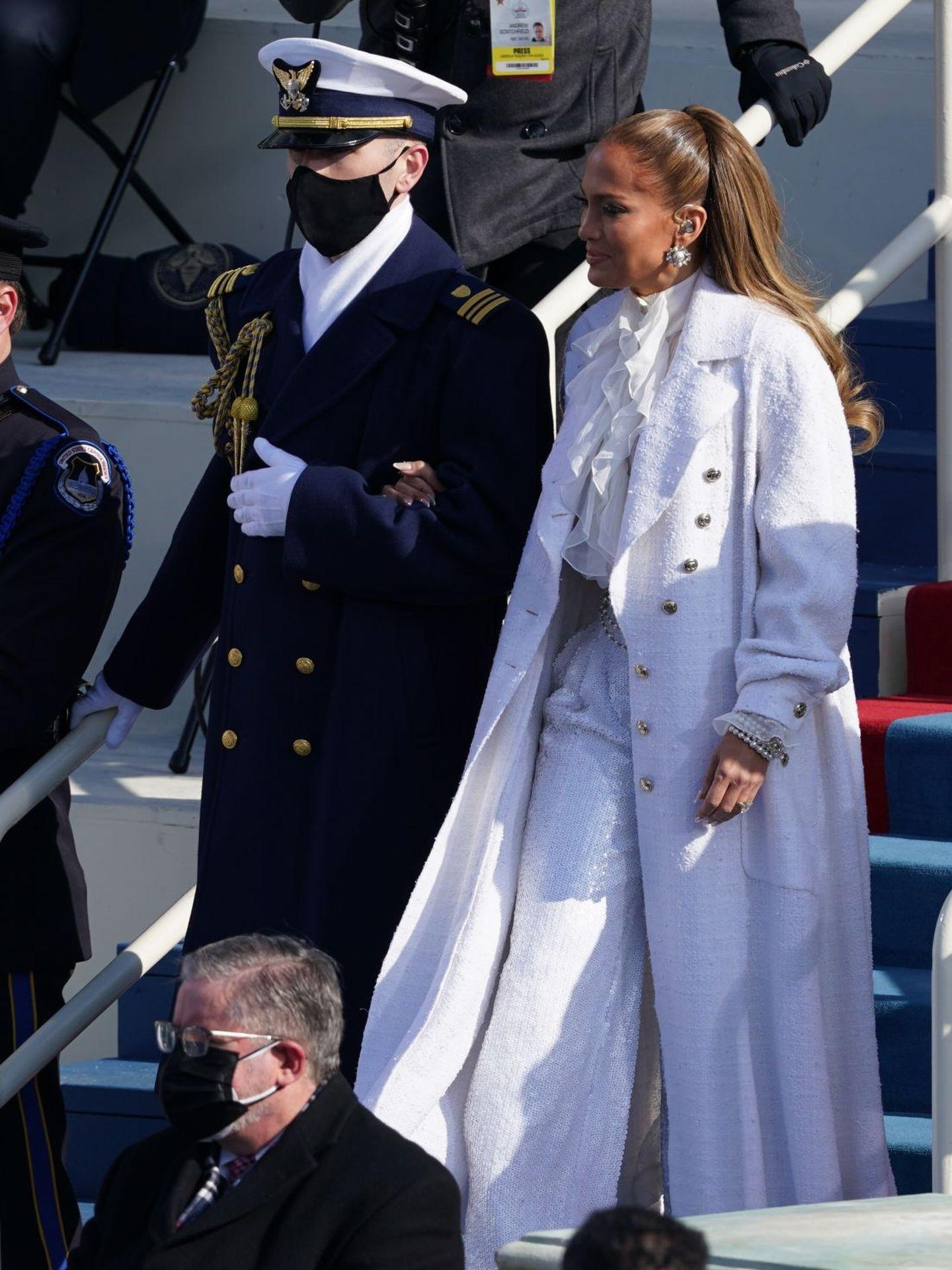 Jennifer Lopez, fabulosa de Chanel. (Reuters)