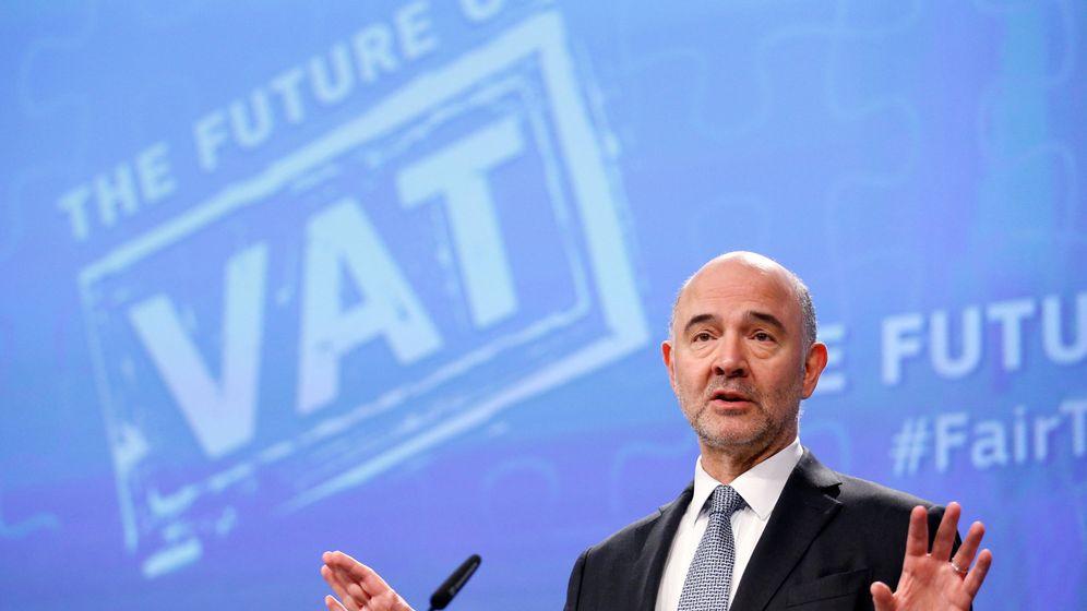 Foto: El comisario europeo para Asuntos Económicos, Pierre Moscovici (Reuters)