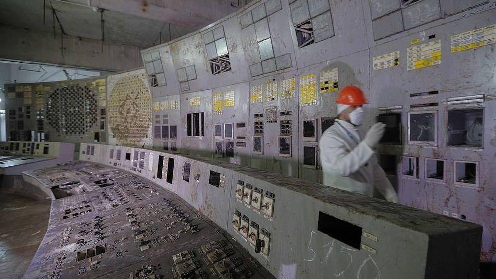 Foto: Imagen de la sala de control del Reactor 4 de Chernóbil que, desde ahora, será destino turístico. (EPA)