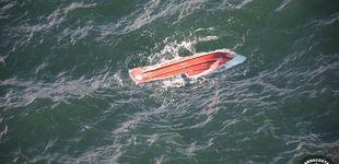 Post de Aparece el cuerpo de un tripulante del barco hundido en Cíes y se busca al patrón
