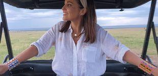 Post de Paula Echevarría: las diademas son su complemento estrella para un día de pelo rebelde