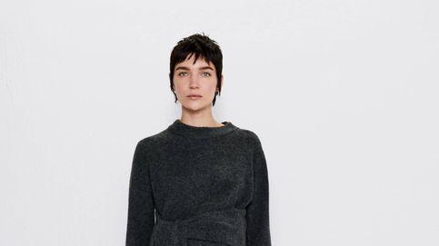 El conjunto de falda y jersey de Zara Mum que hará lucir trendy a las embarazadas