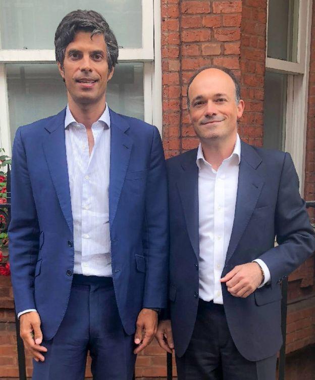 Foto: Mateo Pániker (i) y Iñaki Echave (d), fundadores de Ventura Equity Partners. (EC)