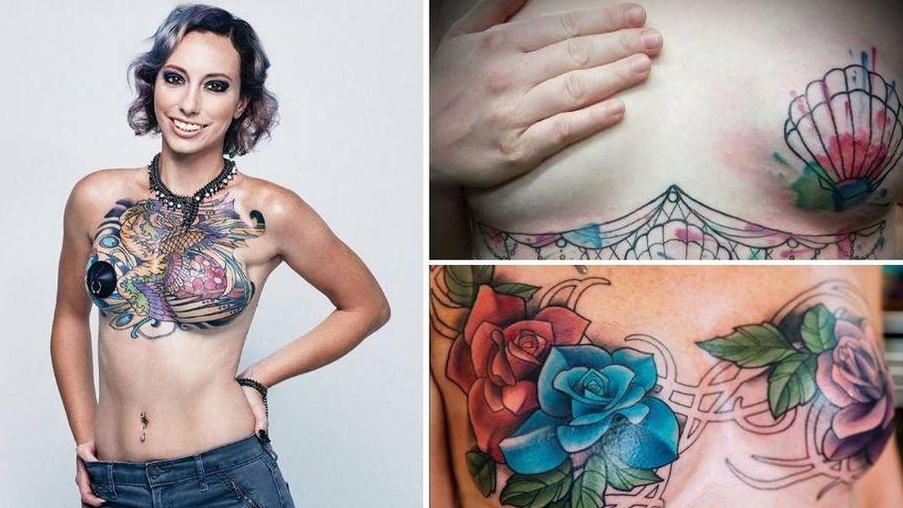 Arte contra el cáncer: así son los tatuajes después de una mastectomía