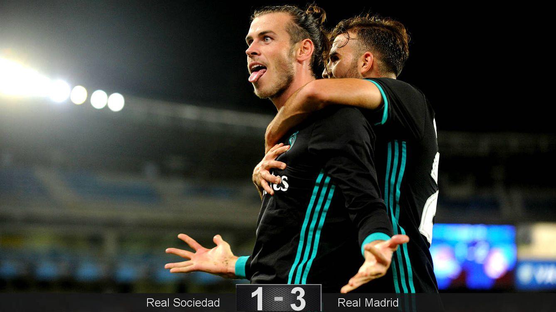 Foto: Bale y Mayoral fueron una gran pareja de ataque. (Reuters)