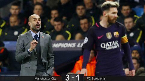 Guardiola elige su manera de perder, pero también la de vengarse del Barça
