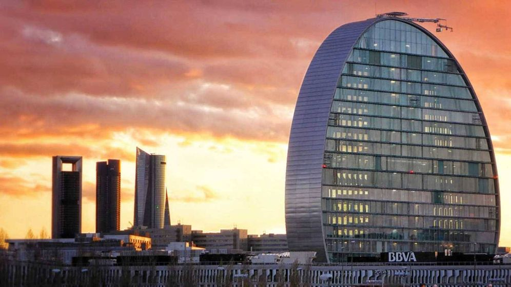 Foto: Sede de BBVA en Madrid.