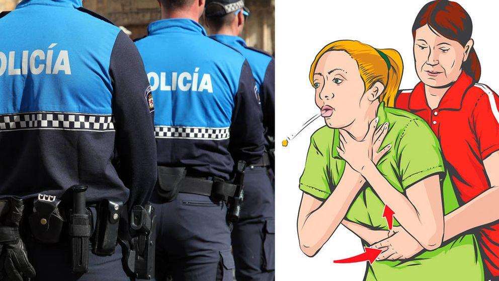 El policía de Zamora que ha salvado cuatro vidas con la maniobra de Heimlich