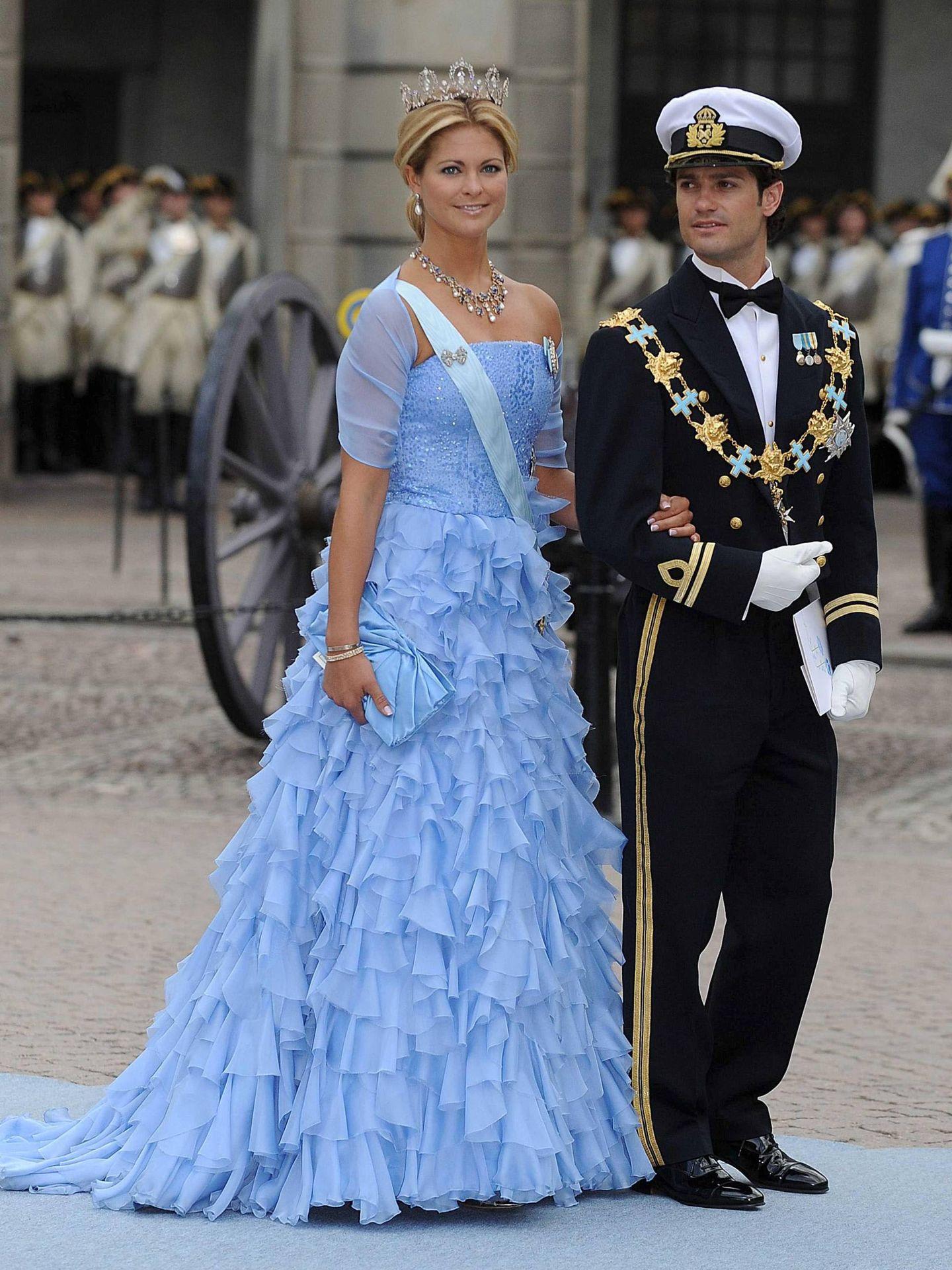 Magdalena y Carlos de Suecia. (Cordon Press)
