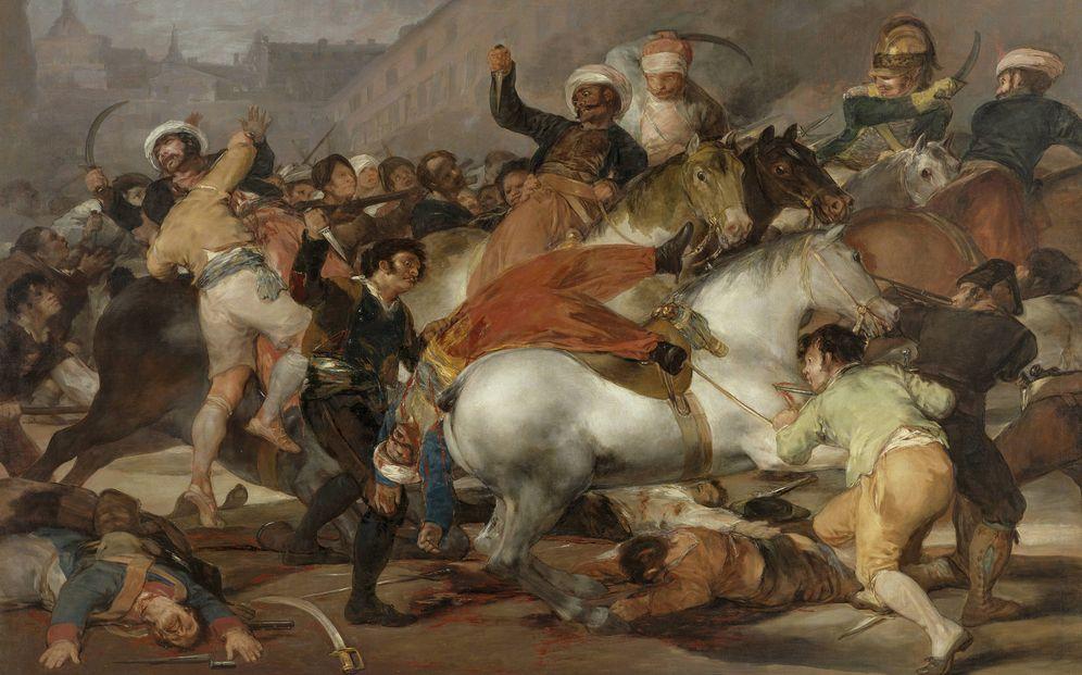 Foto: 'La carga de los mamelucos'. (Francisco de Goya)