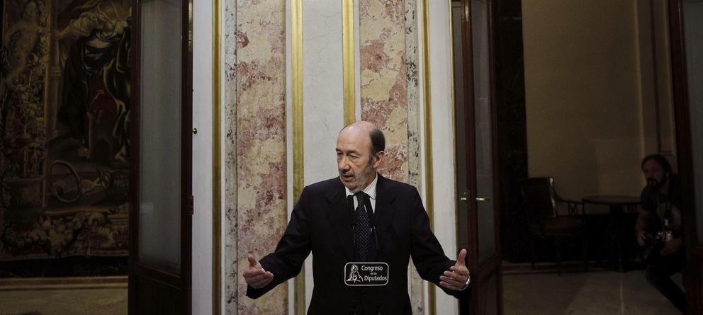 Foto: El secretario general del PSOE, Alfredo Pérez Rubalcaba. (EFE)