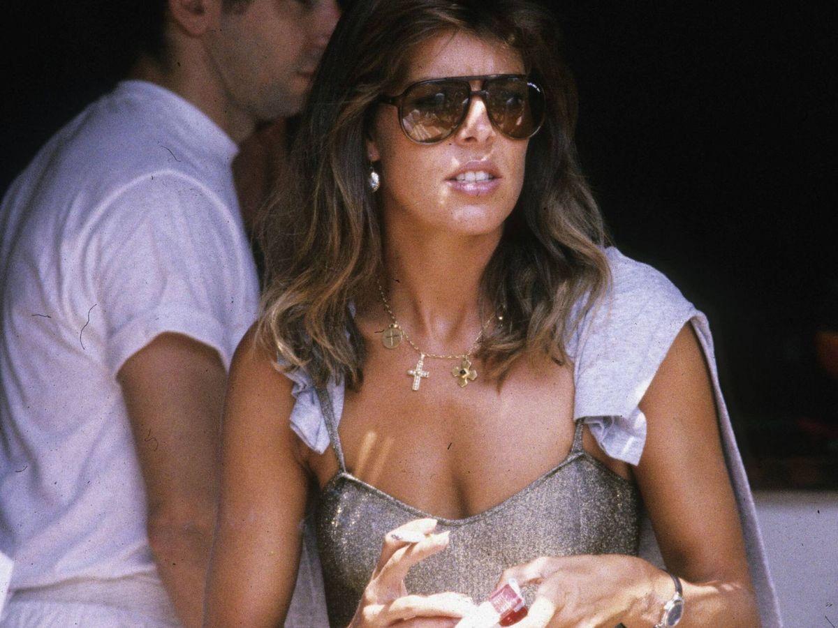 Foto: Carolina de Mónaco, en 1984. (Getty)