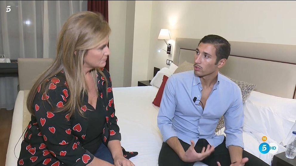 Carlota Corredera se cuela en el hotel de Gianmarco y lo exprime después de 'GH'