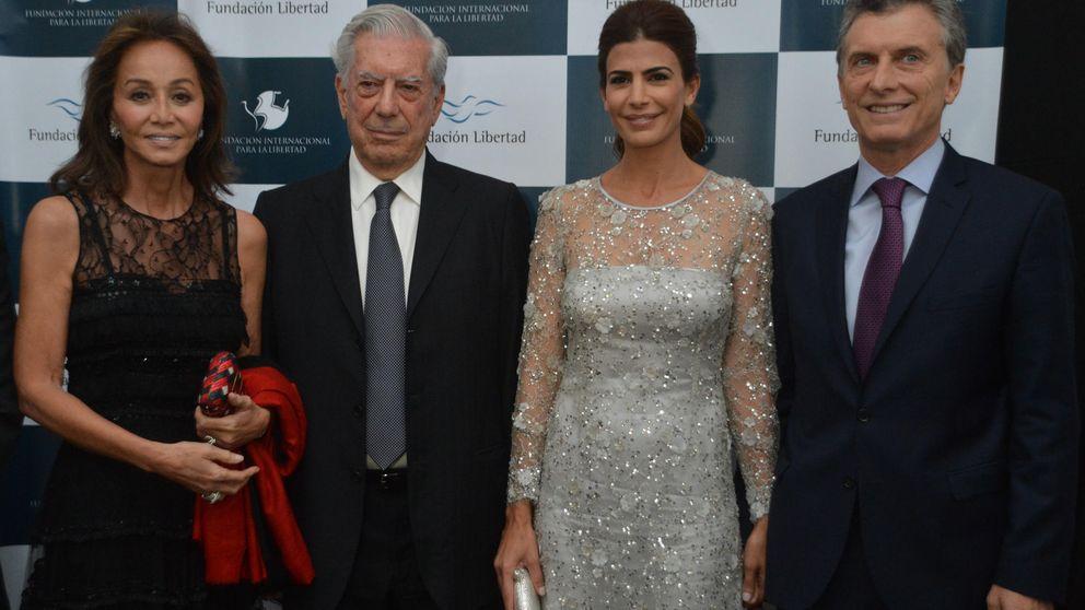 Hasta 15.000 euros por cenar con Isabel Preysler  y Vargas Llosa