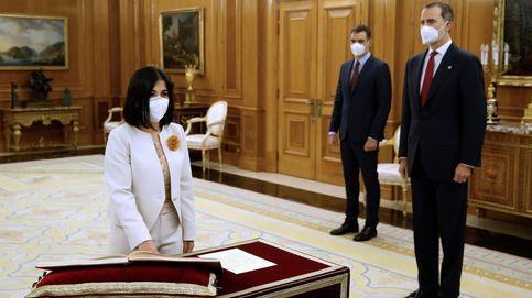 Darias e Iceta prometen sus nuevos cargos en el Gobierno ante Felipe VI en la Zarzuela