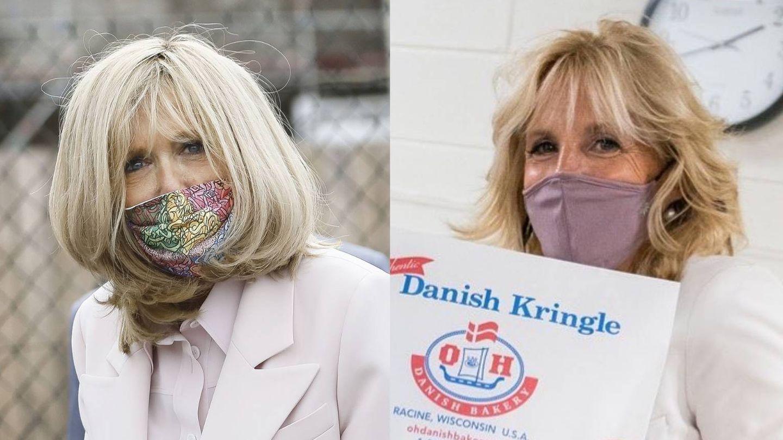Brigitte Macron vs. Jill Biden. (Cordon Press / Instagram)