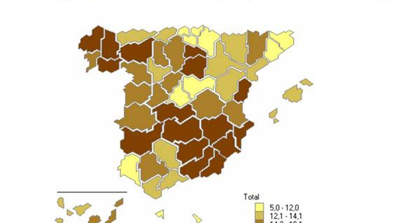 Viviendas vacías en España.